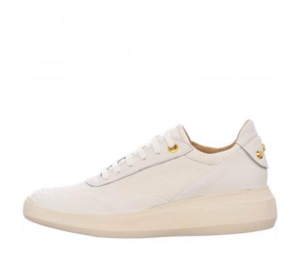 Geox Γυναικείο Sneaker με χρυσές λεπτομέρειες στη Φτέρνα