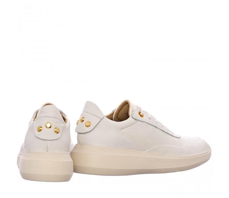Γυναικείο Sneaker με χρυσές λεπτομέρειες στη Φτέρνα 2