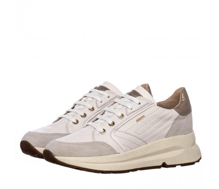 Casual Sneaker Άσπρο Δέρμα