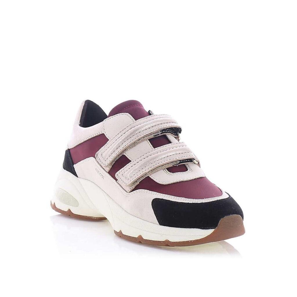 Casual Sneakers Sneaker Τρίχρωμο με Αυτοκόλλητα