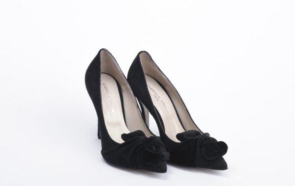 Γυναικεία Παπούτσια Handmade Γόβα με ιδιαίτερο Φιόγκο