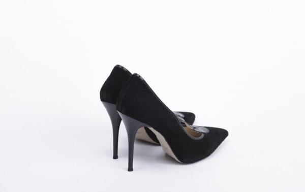 Γυναικεία Παπούτσια Elegant Χειροποίητη Γόβα με Λουστρίνι Λεπτομέρειες