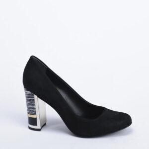 Γυναικεία Παπούτσια Γόβα με Ριγέ Τακούνι και το μονόγραμμα του Jorge Bischoff