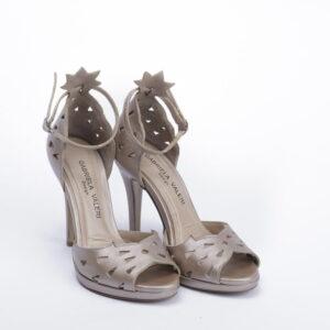 Γυναικεία Παπούτσια Handamade Πέδιλο με Laser Cut και ιδιαίτερη Φτέρνα