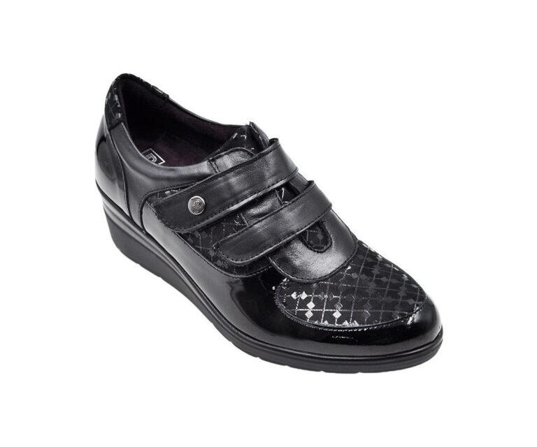 Casual Sneakers Ανατομικό Sneaker Πλατφόρμα με Αυτοκόλλητα