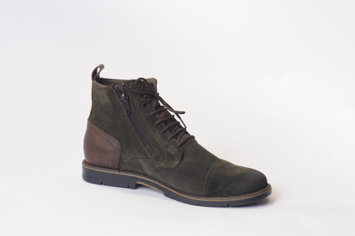 Ανδρικά Παπούτσια Αρβυλάκι Λαδί Καστόρ GALLEN