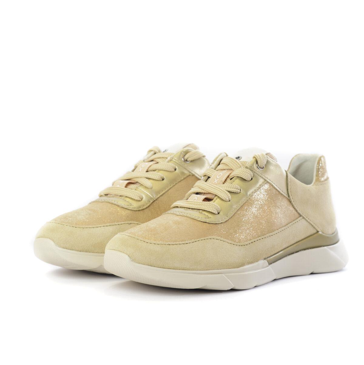 Γυναικείο Sneaker με Gold Λεπτομέρειες 1