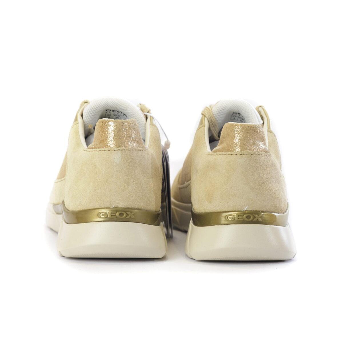 Γυναικείο Sneaker με Gold Λεπτομέρειες 2