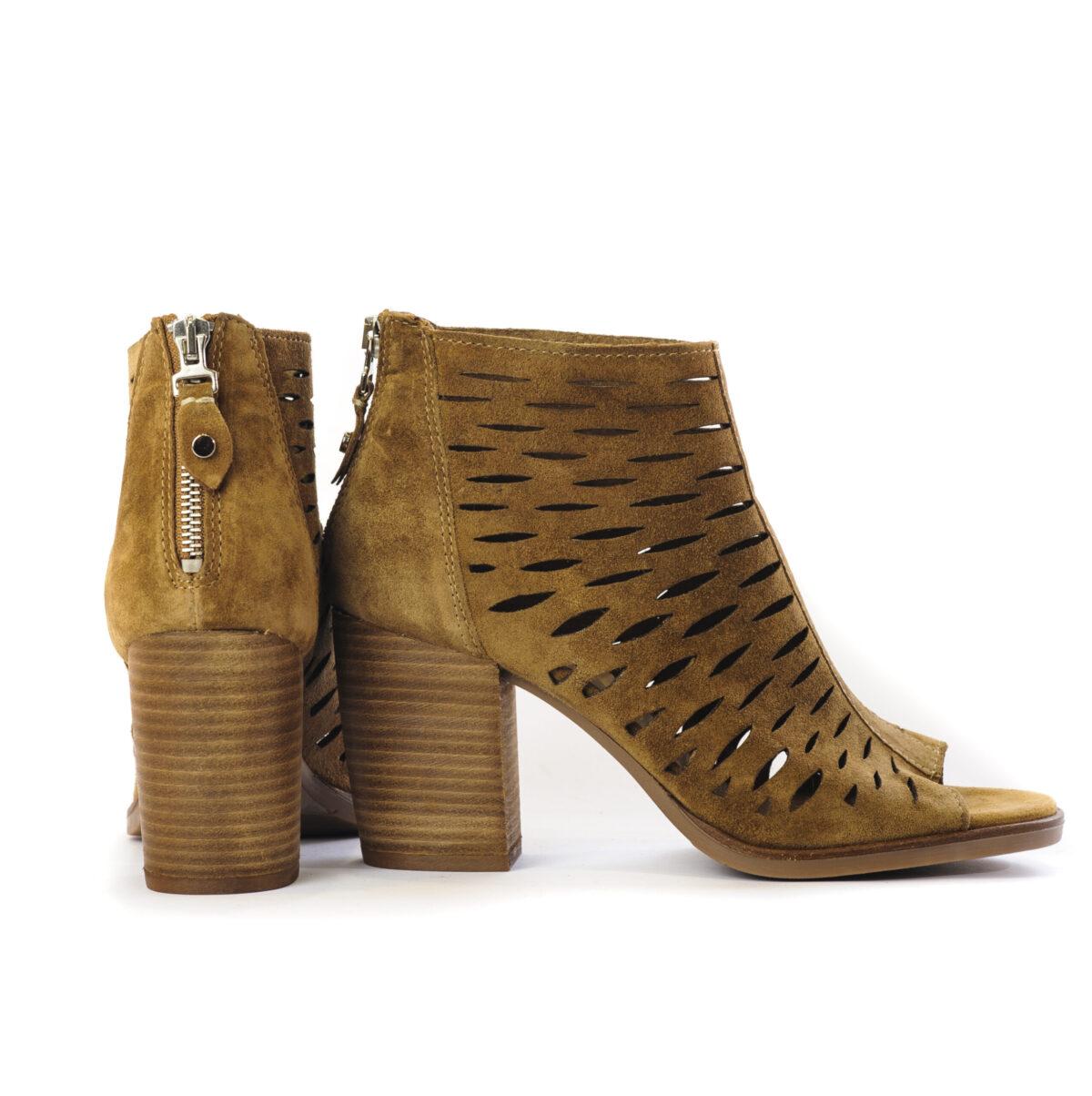 Γυναικεία Παπούτσια Γυναικείο Καλοκαιρινό Μποτάκι Laser Cut