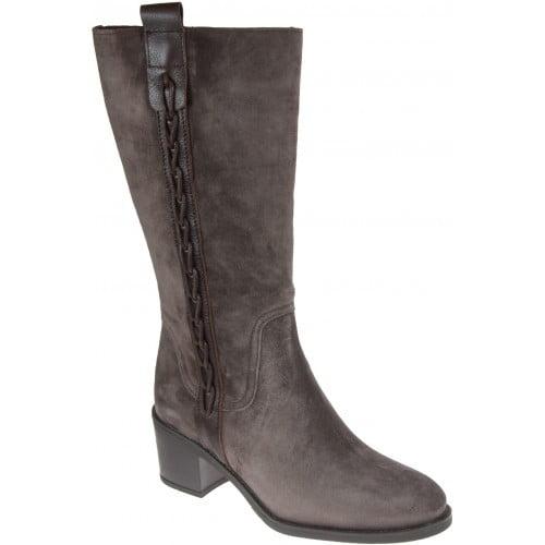 Γυναικεία Παπούτσια Γυναικεία Μπότα 3/4 με Διακριτικό σχέδιο στο πλάι