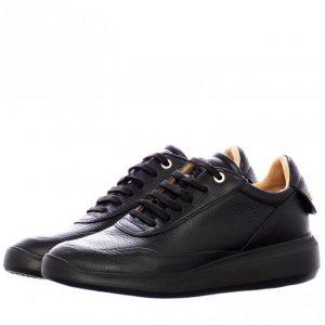 Γυναικεία Παπούτσια Γυναικείο Sneaker με χρυσές λεπτομέρειες στη Φτέρνα