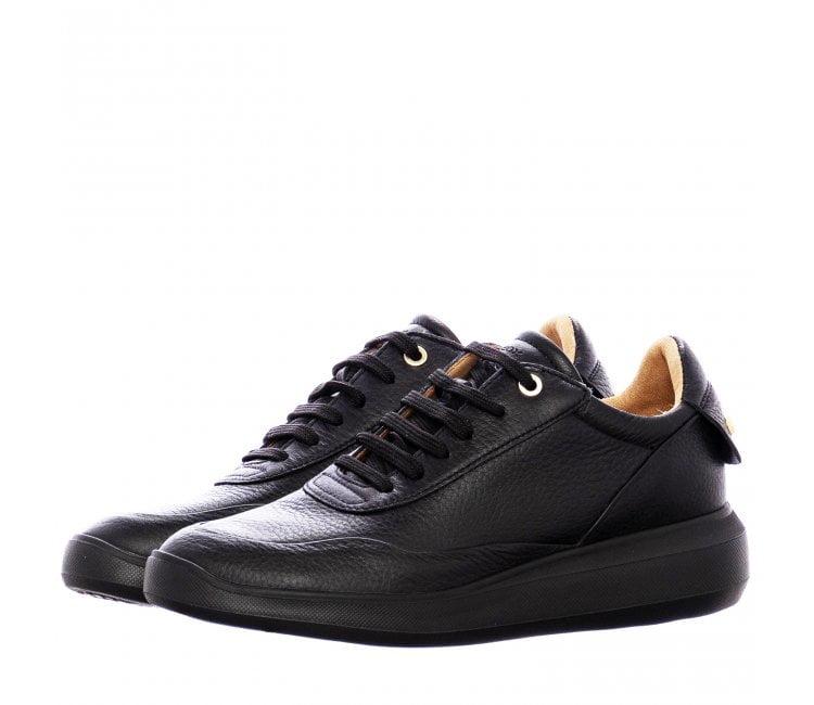 Geox Γυναικείο Sneaker με χρυσά τρουκς στη Φτέρνα