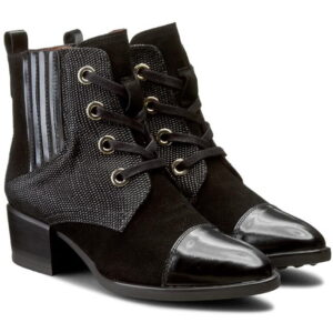 Γυναικεία Παπούτσια Χαμηλό Μποτάκι με 3 δέρματα