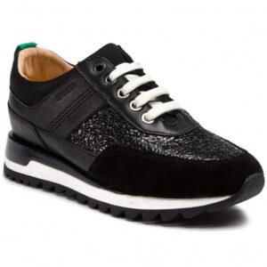 Γυναικεία Παπούτσια Casual Sneaker με snake print λουστρίν