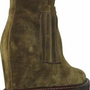 Γυναικεία Παπούτσια Μποτάκια Πλατφόρμα σε Boho Style