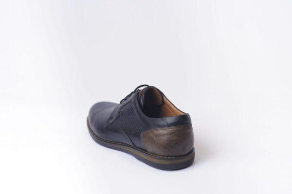 Ανδρικά Παπούτσια Αντρικά Δερμάτινα Δετά Casual