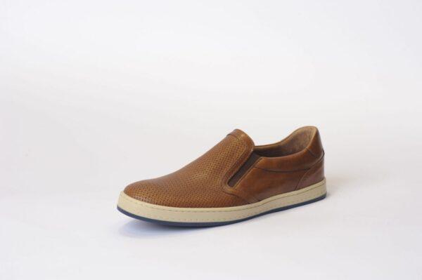 Ανδρικά Sneakers Casual Δερμάτινα Μοκασίνια Πλεκτά