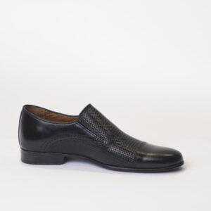 Ανδρικά Παπούτσια Αντρικό Loafers Με Πλεκτό Δέρμα
