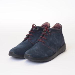Ανδρικά Παπούτσια Ανατομικό Μποτάκι Δέρμα Καστόρ