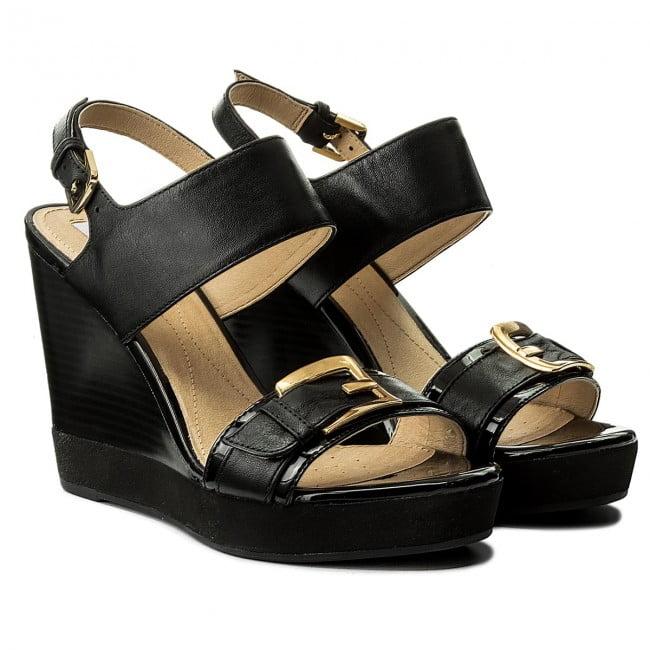 Γυναικεία Παπούτσια Γυναικεία Πλατφόρμα με Χρυσό Τοκά