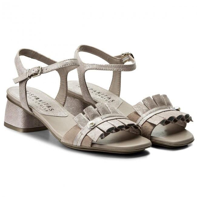 Γυναικεία Παπούτσια Γυναικείο Χαμηλό Πέδιλο με Ιριδίζον Δέρμα