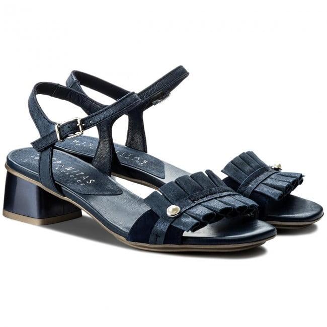 Γυναικεία Παπούτσια Χαμηλό Πέδιλο με Πιέτες και Μπαρέτα