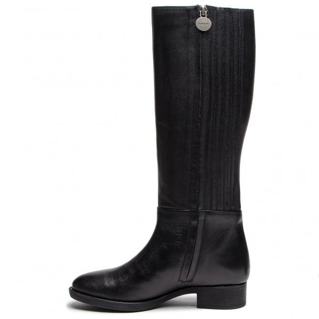 Γυναικεία Παπούτσια Κλασσική Μπότα Ιππασίας με εσωτερικά λάστιχα