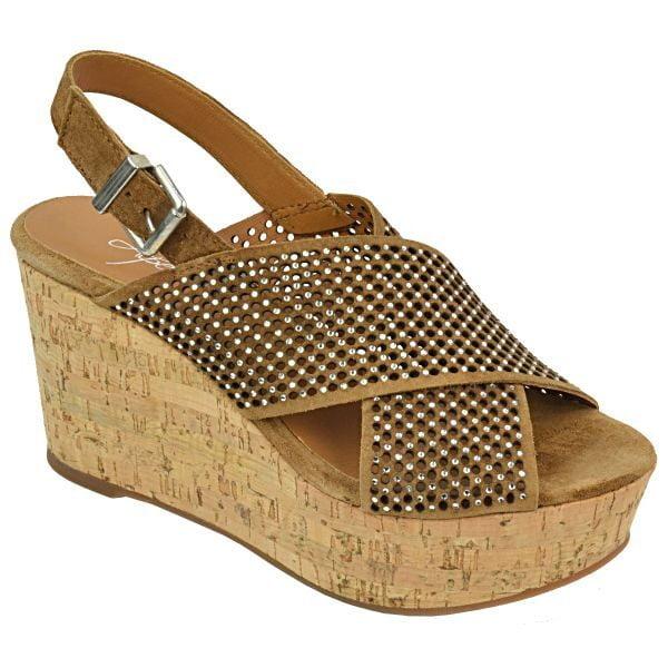 Γυναικεία Παπούτσια Άνετη Πλατφόρμα σε Στρας
