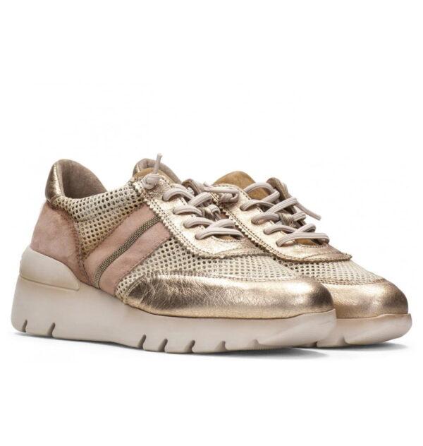 Casual Sneaker με Comfort Σόλα και Glitter