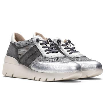 Casual Sneakers Γυναικείο Sneaker με Comfort Σόλα και Glitter