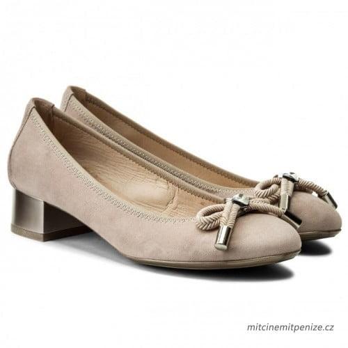 Γυναικεία Παπούτσια Γυναικεία Μπαλαρίνα με μεταλλικό τακούνι