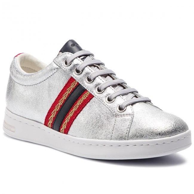Casual Sneaker με Κόκκινη Λωρίδα