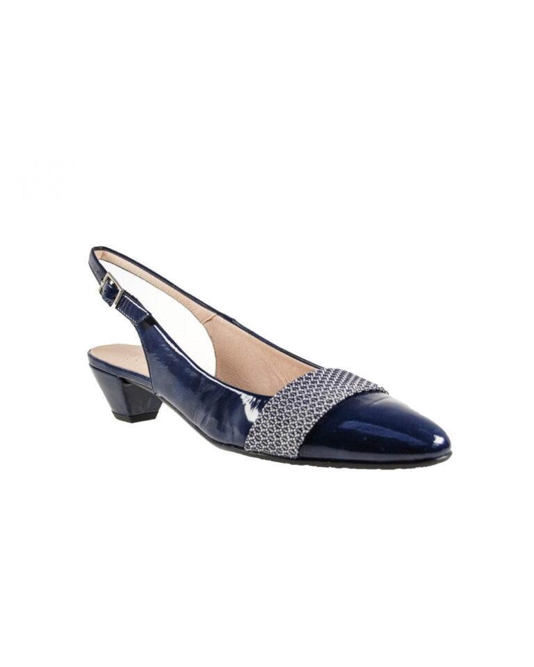 Γυναικεία Παπούτσια Χαμηλό πέδιλο λουστρίν με εντυπωσιακή φάσα