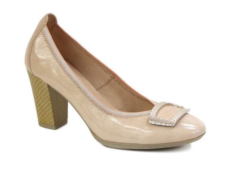 Γυναικεία Παπούτσια Γυναικεία Γόβα Λουστρίν με Αγκράφα