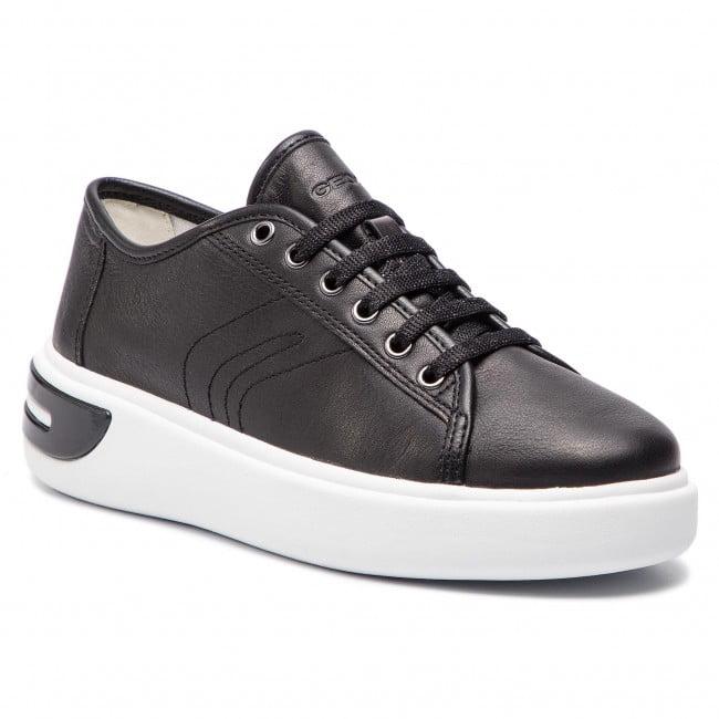 Geox Γυναικείο Casual Sneaker με Άσπρη Σόλα