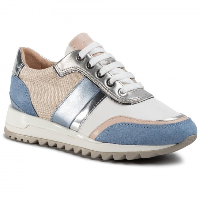 Geox Γυναικείο Sneaker σε Παστέλ Αποχρώσεις