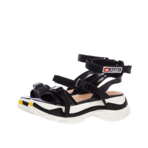 Γυναικεία Παπούτσια Πέδιλο με Sneaker Σόλα και Μπαρέτα
