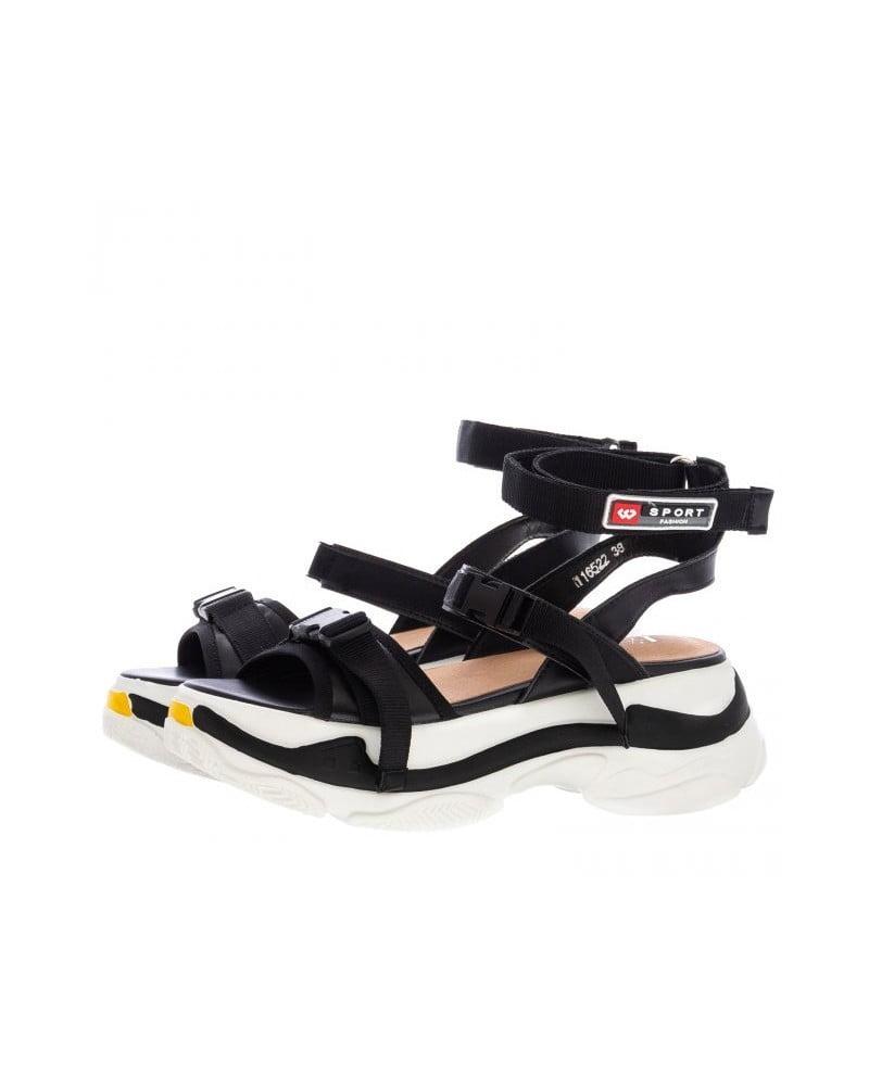 Πέδιλο με Sneaker Σόλα και Μπαρέτα 1