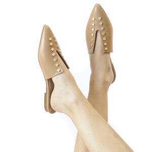 Γυναικεία Παπούτσια Mule Παντόφλα σε Μοντέρνο Σχεδιασμό