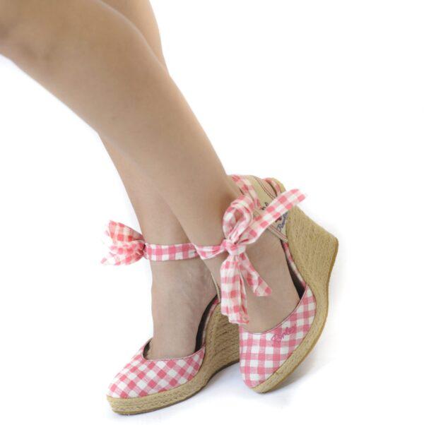 Γυναικεία Παπούτσια Γυναικείες Εσπαντρίγιες Καρό