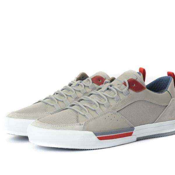 Casual Sneaker με κόκκινες λεπτομέρειες