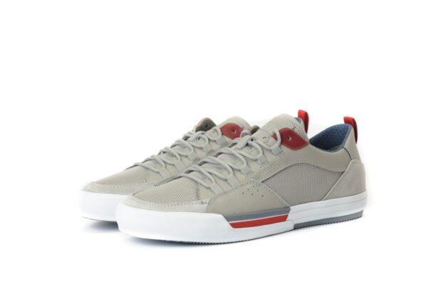 Ανδρικά Sneakers Casual Casual Sneaker με κόκκινες λεπτομέρειες