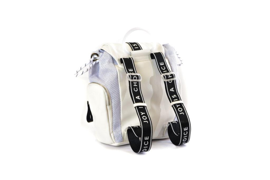 Τσάντες Γυναικεία Luxury Backpack με Δέρμα και Ύφασμα