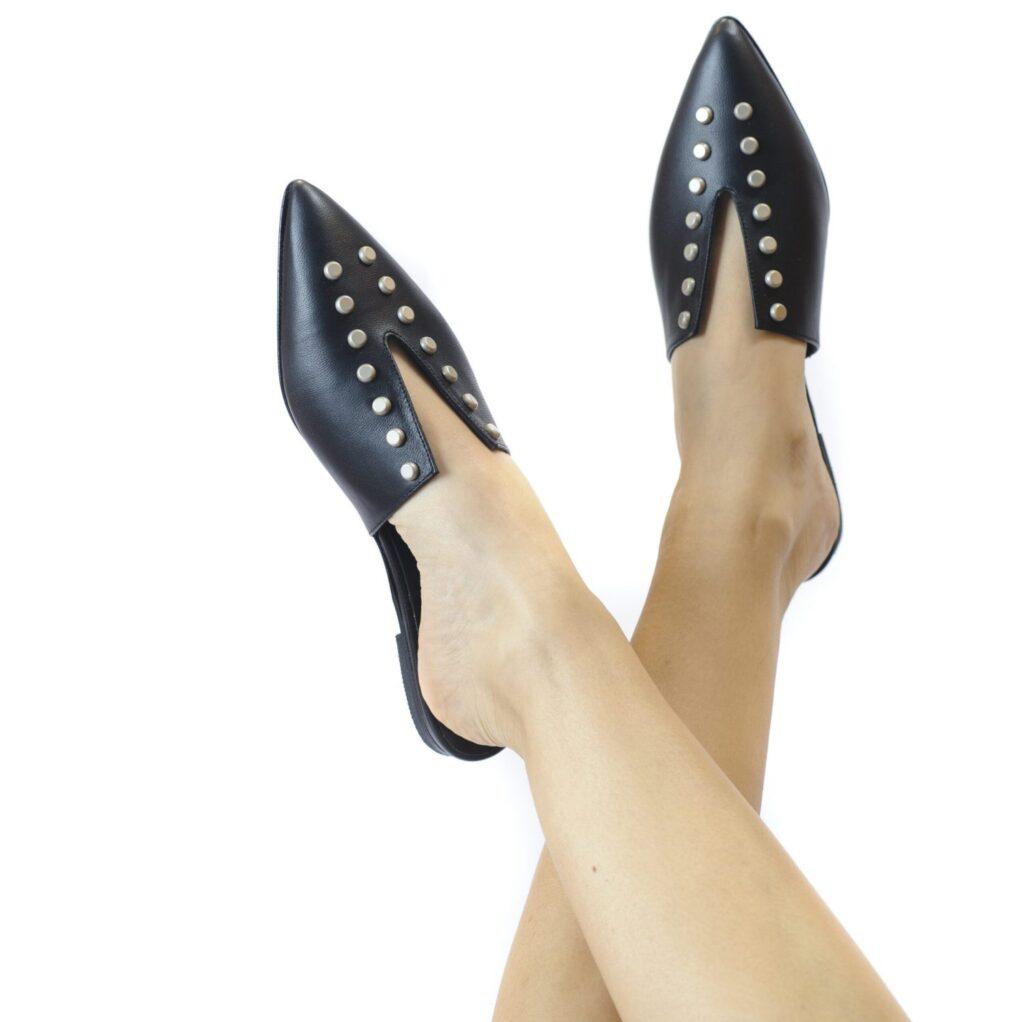 Γυναικεία Παπούτσια Γυναικεία Mule Παντόφλα με V σχέδιο