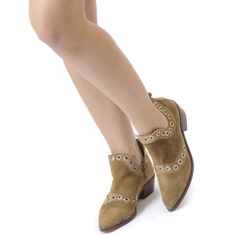 Γυναικεία Παπούτσια Γυναικείο Μποτάκι σε Cowboy Style
