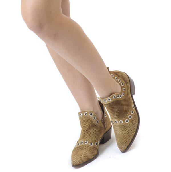 Γυναικείο Μποτάκι σε Cowboy Style