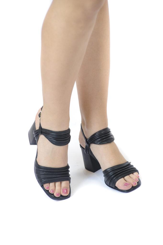 Γυναικεία Παπούτσια Γυναικείο Πέδιλο με Σούρες