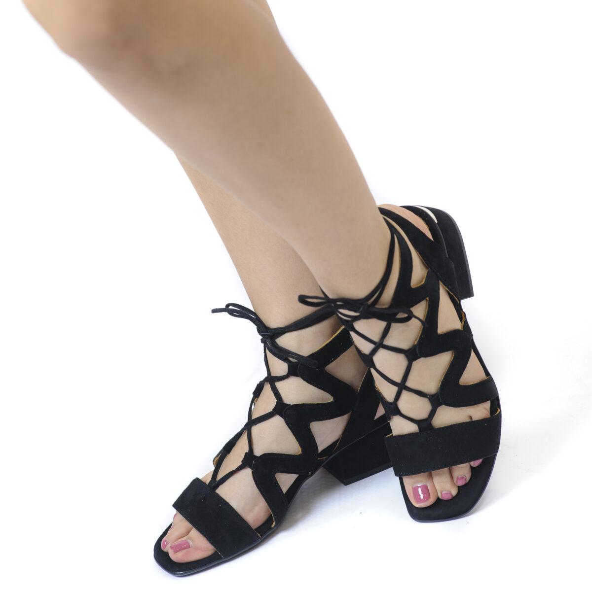 Γυναικεία Παπούτσια Γυναικείο Πέδιλο με Κορδόνια