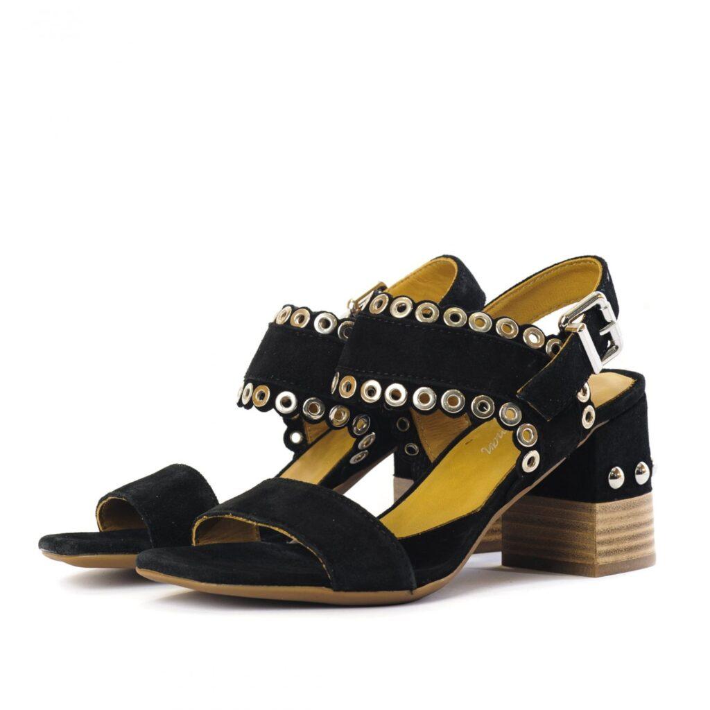 Γυναικεία Παπούτσια Γυναικείο Πέδιλο με Τρουκς Λεπτομέρειες