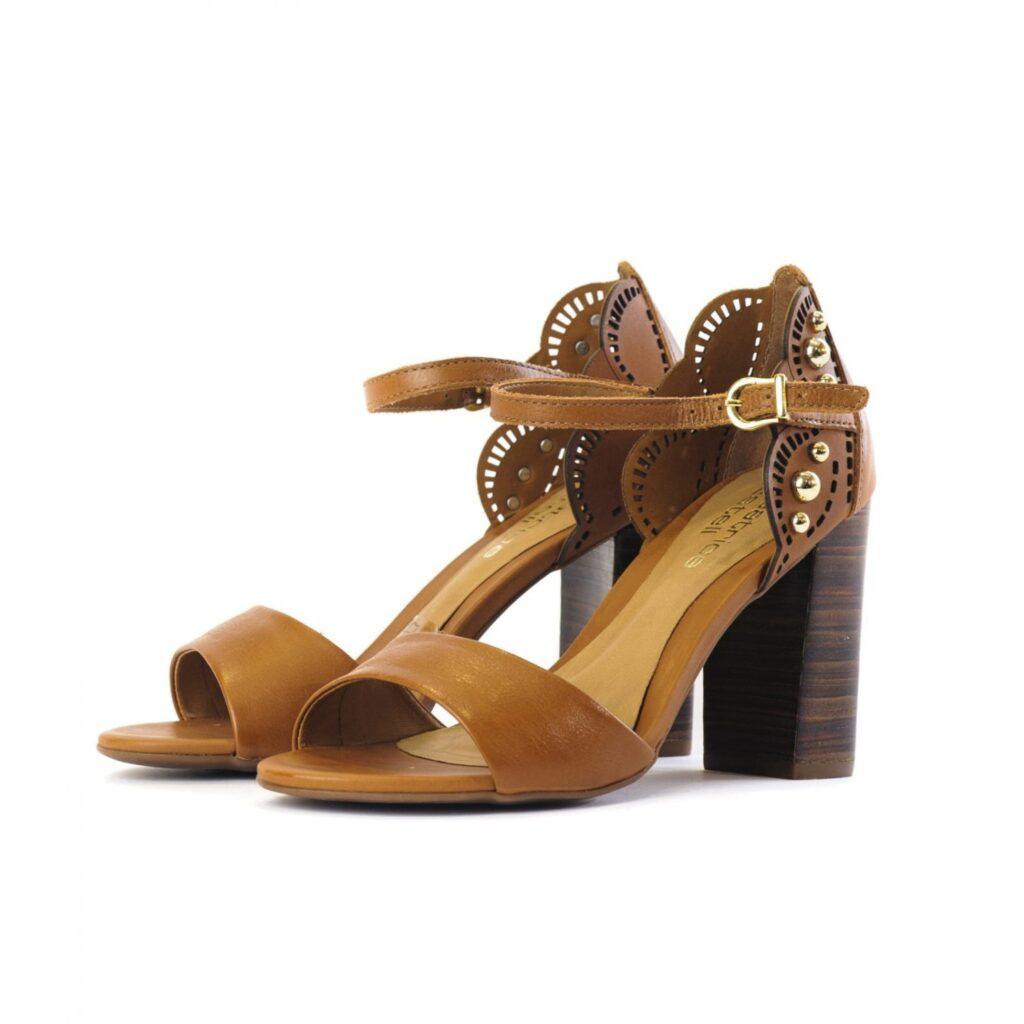 Γυναικεία Παπούτσια Γυναικείο Πέδιλο με Laser Cut Δαντέλας